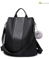 978ed630a9 Miss Lulu ÚJ 2019-es megjelenésű elegáns és divatos női táska hátizsák  fekete színben CSAK