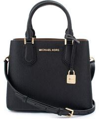 Michael Kors Adele Leather MD EW Satchel Kabelka černá b42f0ca1a14