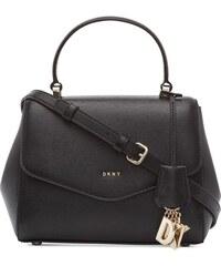 dd69b0fa4d DKNY Donna Karan DKNY Paige kabelka top handle black gold