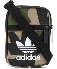 Adidas Trefoil camouflage shoulder bag - Green 0236224330