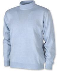 Willsoor Pánský svetr s rolákem bledě modrý 10271 90d385d6e7