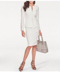 9b0a6e56af76 Ashley Brooke Elegantný biely kostým