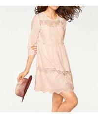 0b3e874535a1 Šaty s okrúhlym výstrihom z obchodu VioletteModa.sk