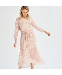 Sinsay - Dlhé šaty - Ružová ad0ed0a50d