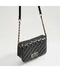 Mohito - Prešívaná kabelka cez plece - Čierna 9551e143a41
