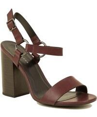 8db2e6265e3fa NEW LOOK Biele sandále pre širšie chodidlo - Glami.sk