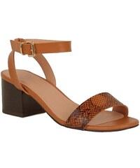 53e28d38571a NEW LOOK Sandálky s hadím vzorom