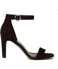 c6ae2b311f81 NEW LOOK Semišové sandálky s diamantmi na podpätku - Glami.sk