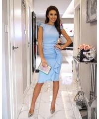 3c23a4bf565b Světle modrá šaty