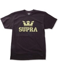 Pánske čierne tričko Supra Above Regular f3de8b60859