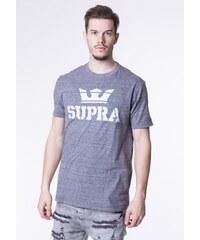 Pánske šedé tričko Supra Above Regular 3e823d55f00