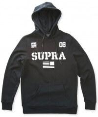 e078242035b Pánská černá mikina s kapucí Supra Team USA