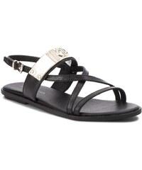 Sandále TOMMY HILFIGER - Feminine Wedge Sandal Stars Studs ... a44618b2d8c