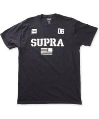 a7e5bfa33dde Pánske čierne tričko Supra Above Regular - Glami.sk