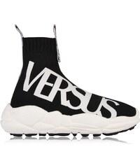 Tenisky VERSUS VERSACE Logo Sock Run Trainers bde56bd121d