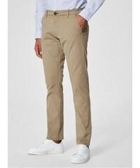 61e41e585f2 Selected Homme béžové chino kalhoty Three Paris XXL
