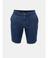 Tommy Hilfiger modré pánské vzorované classic fit chino kraťasy S 7d8257696c