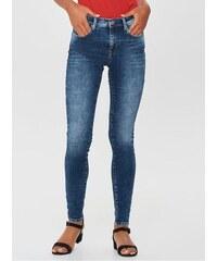 ONLY modré skinny fit džíny s potrhaným efektem XS bf45dffa52