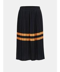 e59d36165ff Vero Moda tmavě modrá plisovaná sukně s pruhy Niti L