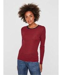 Vero Moda modro-červené pruhované tričko Ita L df03bbd9d5