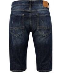 Oliver modré pánské slim fit džínové kraťasy M 370c61e00c