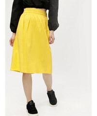 Vero Moda žlutá sukně Sia XL 3ee3de423a