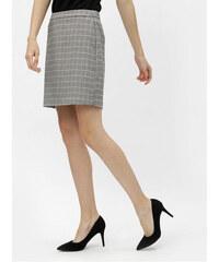 01c48bffd65 Vero Moda šedá kostkovaná kostýmová pouzdrová sukně Kamma L