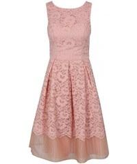 9631f8954a2 Chi Chi London růžové krajkové šaty Maniel XL