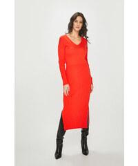 Oranžové šaty s dlouhým rukávem - Glami.cz a2e8275ffb