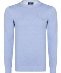 2627d41a76cc Svetlo fialový luxusný sveter od Gant