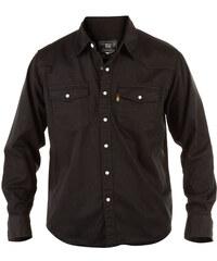 DUKE košile pánská KS1024 Western Style Denim Shirt riflová nadměrná  velikost aef2738eaa