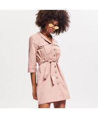 Reserved - Košilové šaty - Růžová e32ad76def1