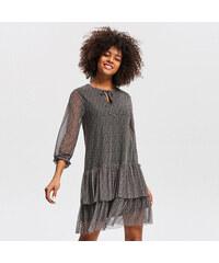 89560e3efd6 Reserved - Pásikavé šaty - Béžová