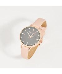 Mohito - Elegantní hodinky s kontrastním ciferníkem - Růžová 466ad4cdf4