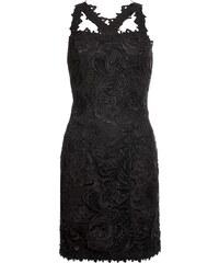 BODYFLIRT boutique Bonprix - robe d été Robe à dentelle noir sans manches  pour femme 52b21065b8e8