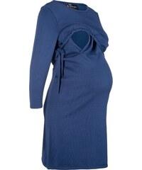 68350462e00 bonprix Těhotenské kojicí pletené šaty