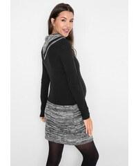 bonprix Těhotenské šaty s pletenou sukní b32b2a2e8b