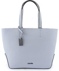 ab384447a8 Calvin Klein Edit Medium Shopper Kabelka světle modrá