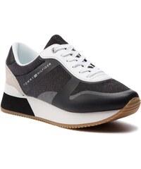 3535a13dd0 Sportcipő TOMMY HILFIGER - Glitter City Sneaker FW0FW03772 Black 990