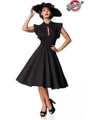 Dámske retro čierne spoločenské šaty Belsira Belsira 50152 ee31018a8be