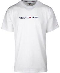 Kolekcia Tommy Hilfiger Biele Pánske tričká z obchodu Gatio.sk ... 3a672cd417e