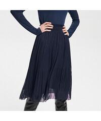 e2adc50085d Reserved - Plisovaná sukně - Tmavomodrá