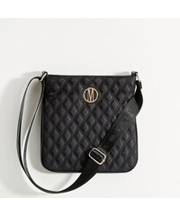Mohito - Crossbody kabelka s reliéfnym vzorom - Čierna c4f8d3ea99a