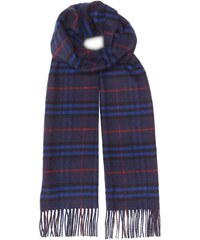 Burberry The Classic Vintage Check Cashmere Scarf - Blue 5192053b13