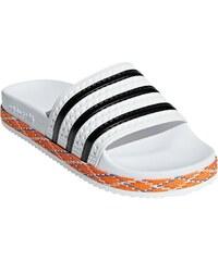 a20210484c Letné topánky a žabky ADIDAS ORIGINALS-Adilette New Bold W  FTWWHT CBLACK FTWWHT