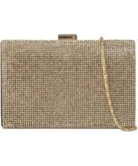 ikabelky Spoločenská kabelka s kamienkami K-2099 zlatá 418fe4f8138