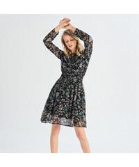 Sinsay - Kvetované šaty - Viacfarebn e9b2f41fd8b