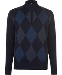 0a06108425e2 Slazenger Mizuno Argyle pánské Sweater Black