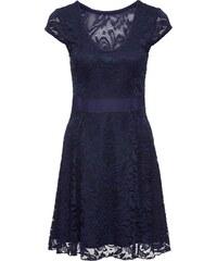 5a0e2ca0532 bonprix Žerzejové šaty s krajkou