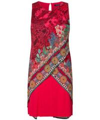 Desigual dámské šaty Vest Monique 42 červená 8f3d6106881